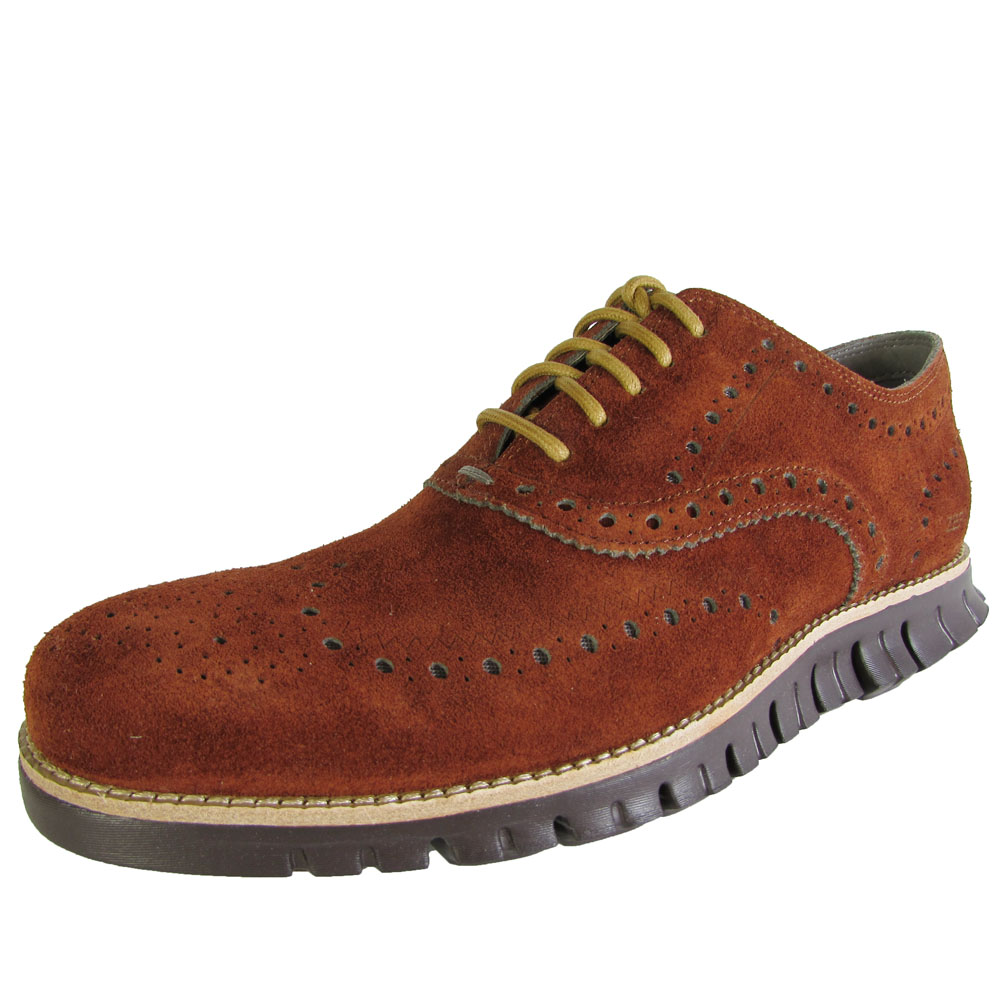 Chaussures Oxford Zerogrand Cole Haan - Marron GreW5D