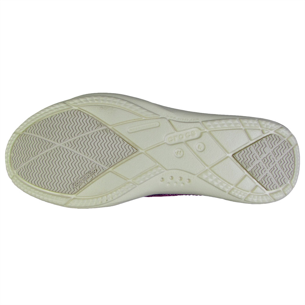 Crocs-Womens-Walu-Canvas-Loafer-Slip-On-Shoe thumbnail 3