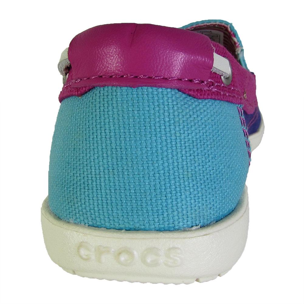 Crocs-Womens-Walu-Canvas-Loafer-Slip-On-Shoe thumbnail 4
