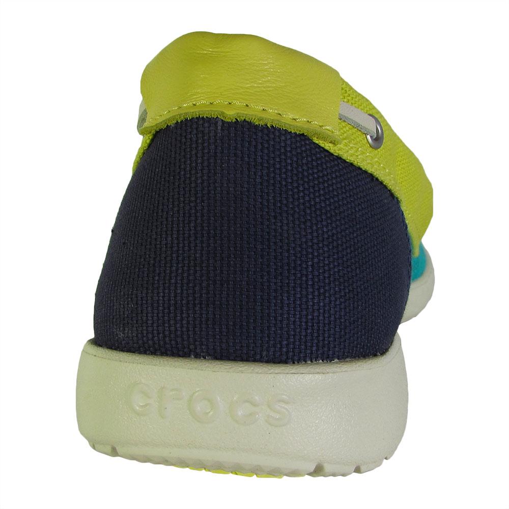 Crocs-Womens-Walu-Canvas-Loafer-Slip-On-Shoe thumbnail 13