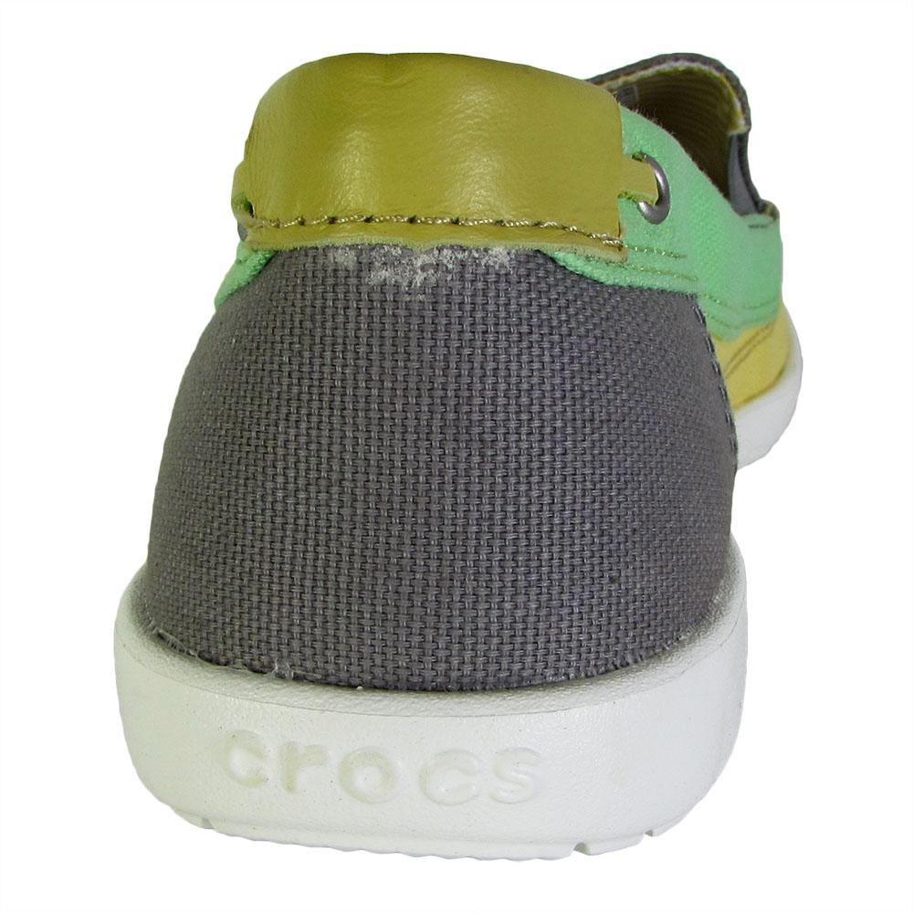 Crocs-Womens-Walu-Canvas-Loafer-Slip-On-Shoe thumbnail 16