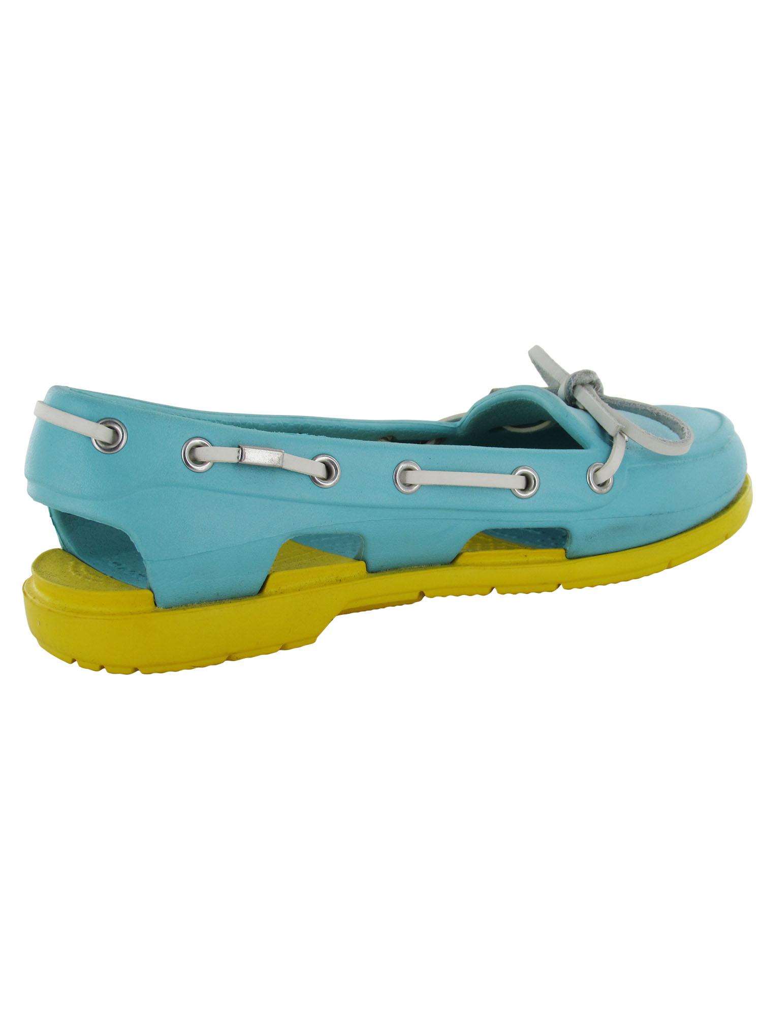 fb8ef2148 Crocs-Womens-Beach-Line-Slip-On-Boat-Shoes thumbnail