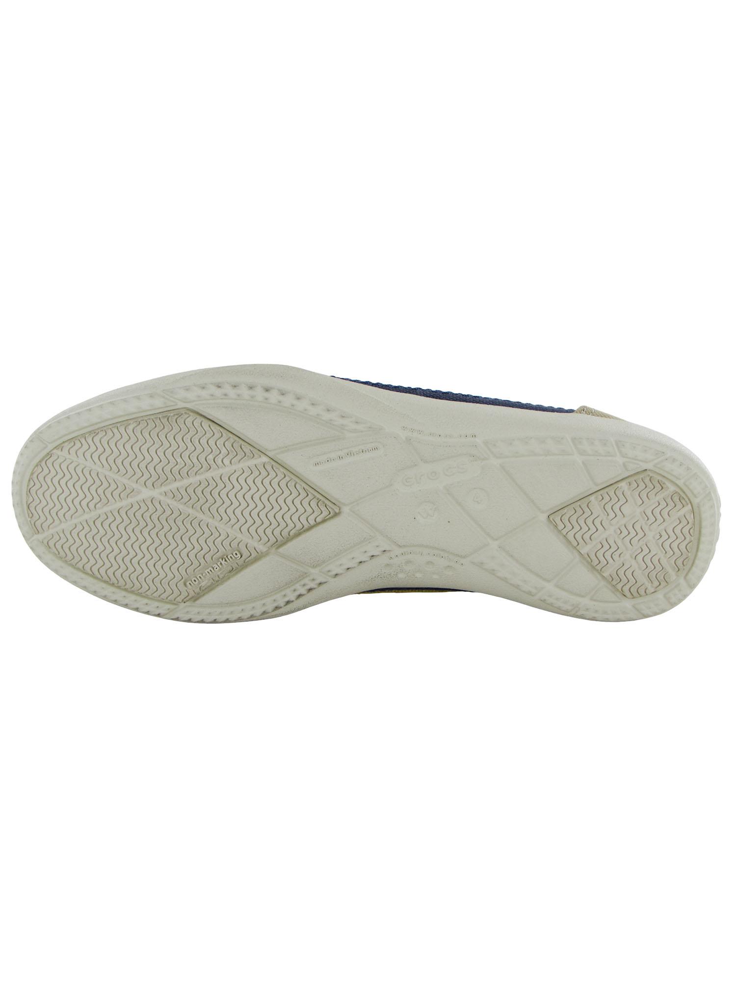 Crocs-Womens-Walu-Canvas-Loafer-Slip-On-Shoe thumbnail 9