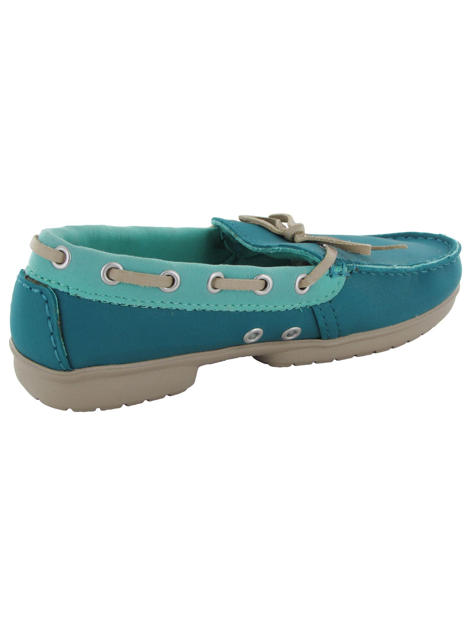 Crocs-Womens-Wrap-ColorLite-Loafer-Shoes thumbnail 7