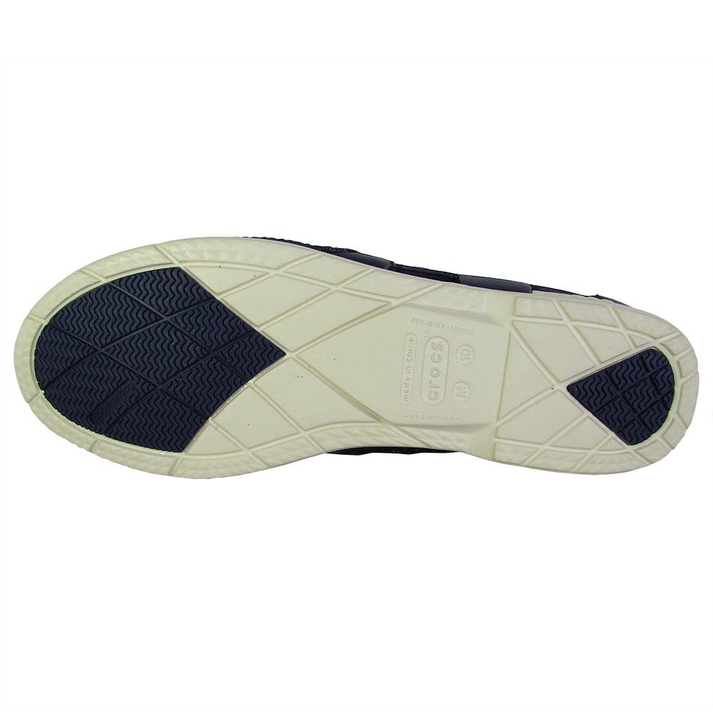 Crocs-Mens-Beach-Line-Lace-Up-Boat-Shoes thumbnail 3