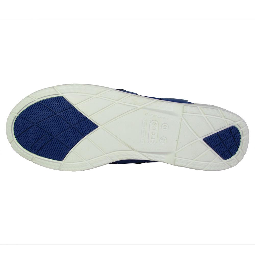 Crocs-Mens-Beach-Line-Lace-Up-Boat-Shoes thumbnail 6