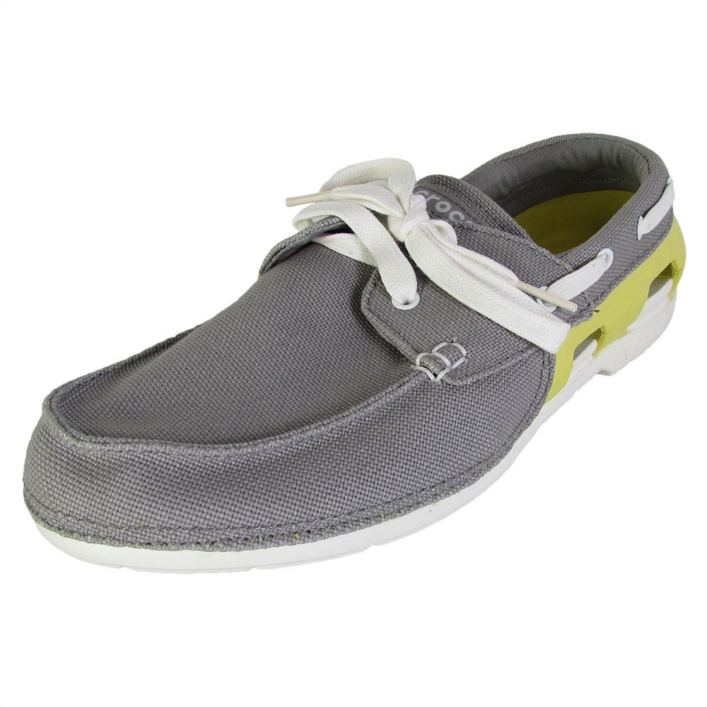 Mens Beach Line Boat Shoe Crocs