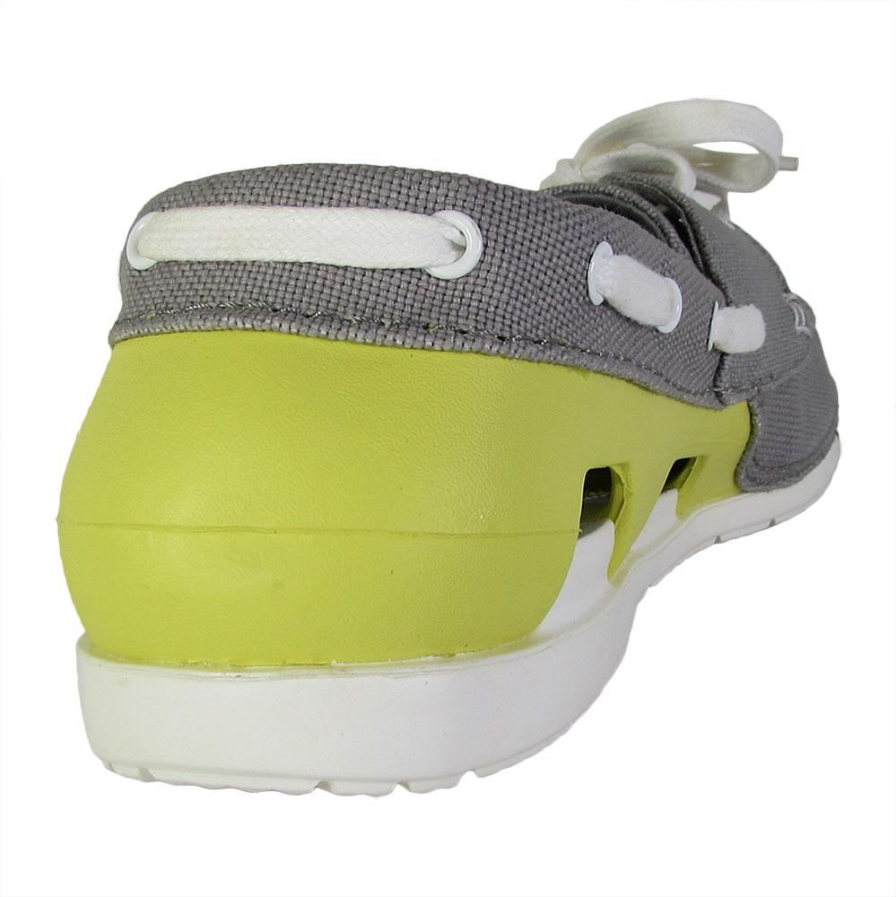 Crocs-Mens-Beach-Line-Lace-Up-Boat-Shoes thumbnail 13
