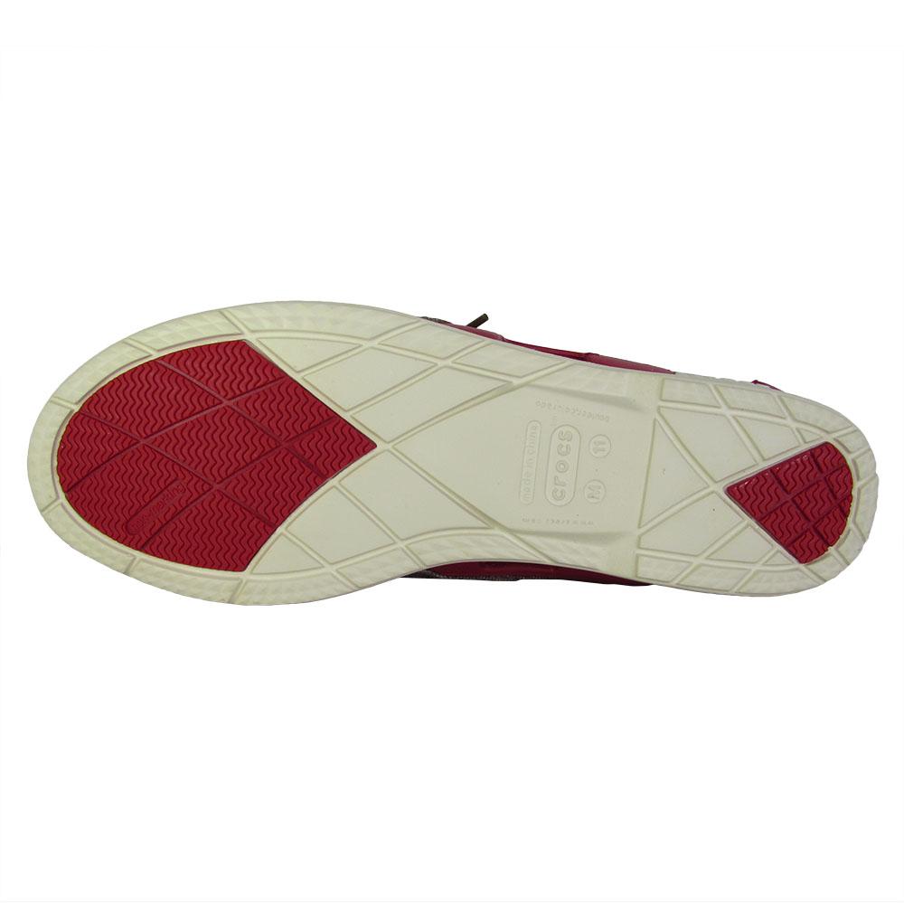 Crocs-Mens-Beach-Line-Lace-Up-Boat-Shoes thumbnail 15