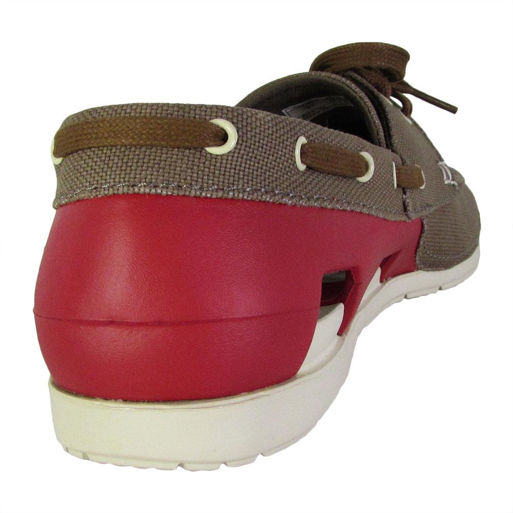 Crocs-Mens-Beach-Line-Lace-Up-Boat-Shoes thumbnail 16
