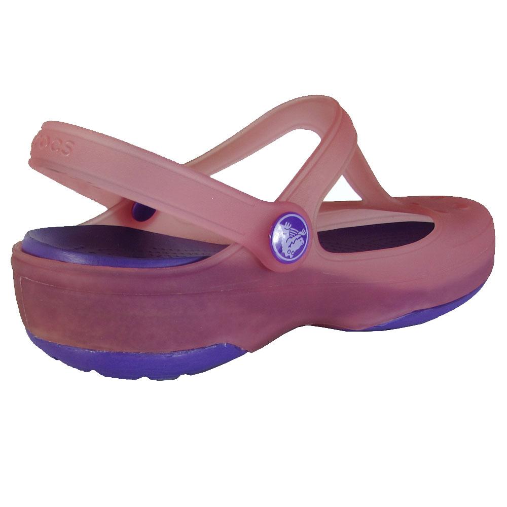 Crocs-Womens-Carlie-Mary-Jane-Flat-Shoes thumbnail 7