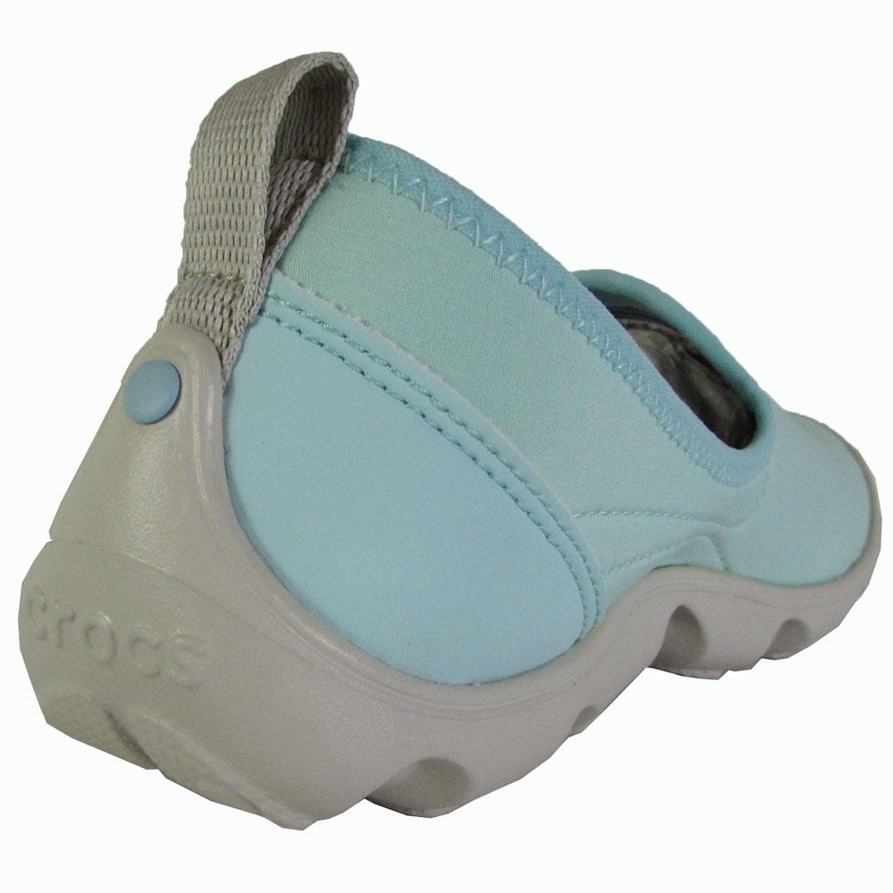 Crocs-Womens-Duet-Busy-Day-Skimmer-Flat-Shoes thumbnail 10