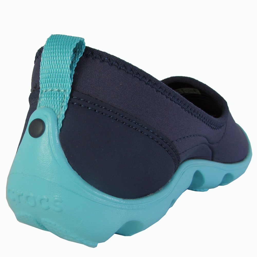 Crocs-Womens-Duet-Busy-Day-Skimmer-Flat-Shoes thumbnail 16
