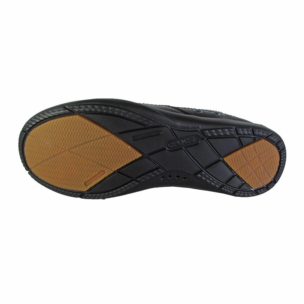 e5ecfc3dc1065 Crocs Mens Harborline Slip On Moc Toe Loafer Shoes