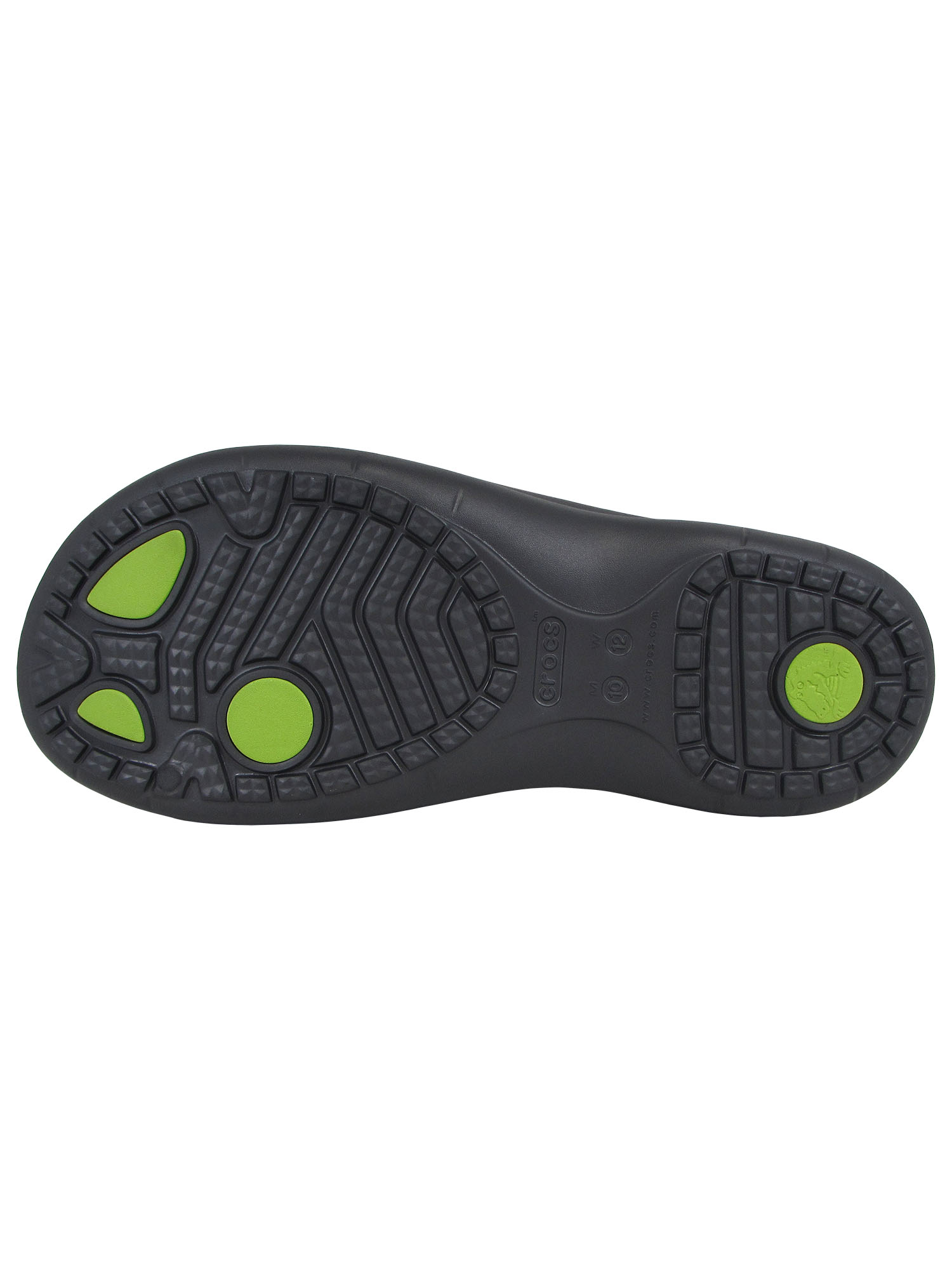 2859ddf4e5d5 Crocs Modi Sport Slide Sandals - Men s Size 9 Graphite volt Green ...