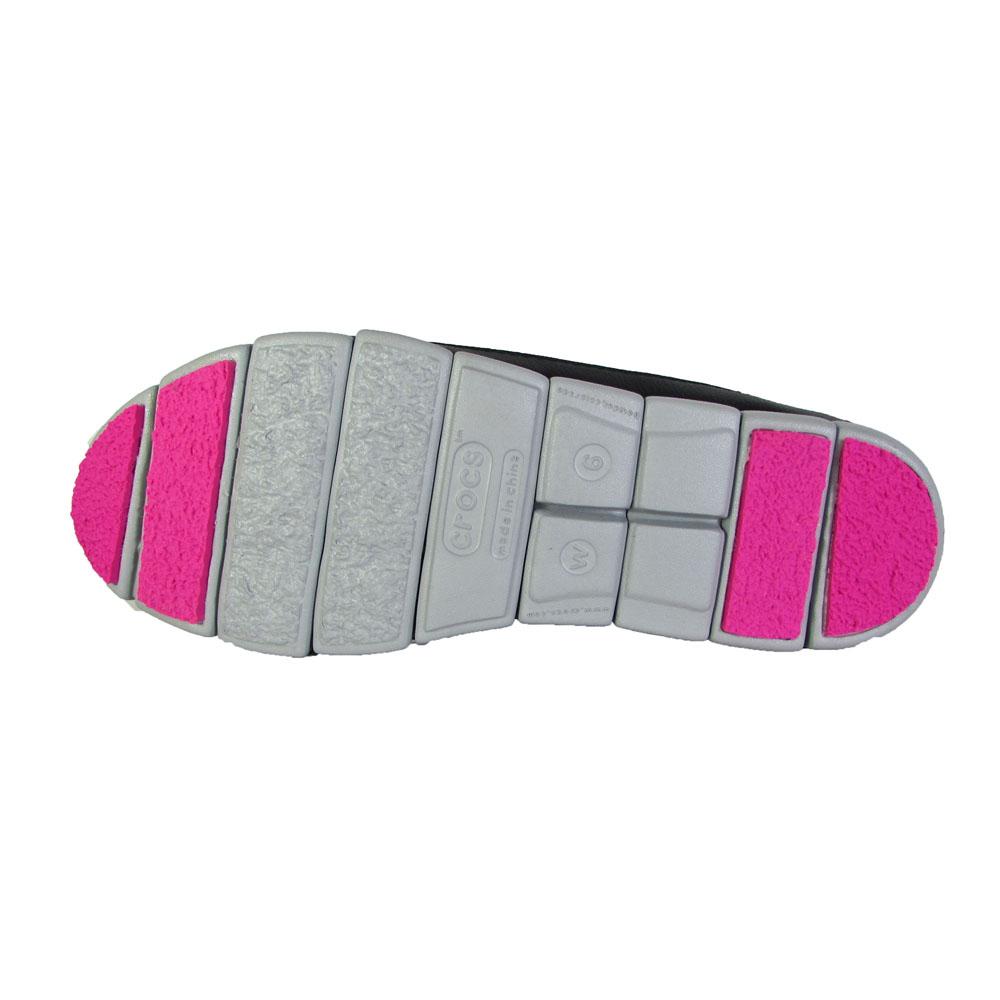 Crocs-Womens-Stretch-Sole-Flat-Slip-On-Shoes thumbnail 4