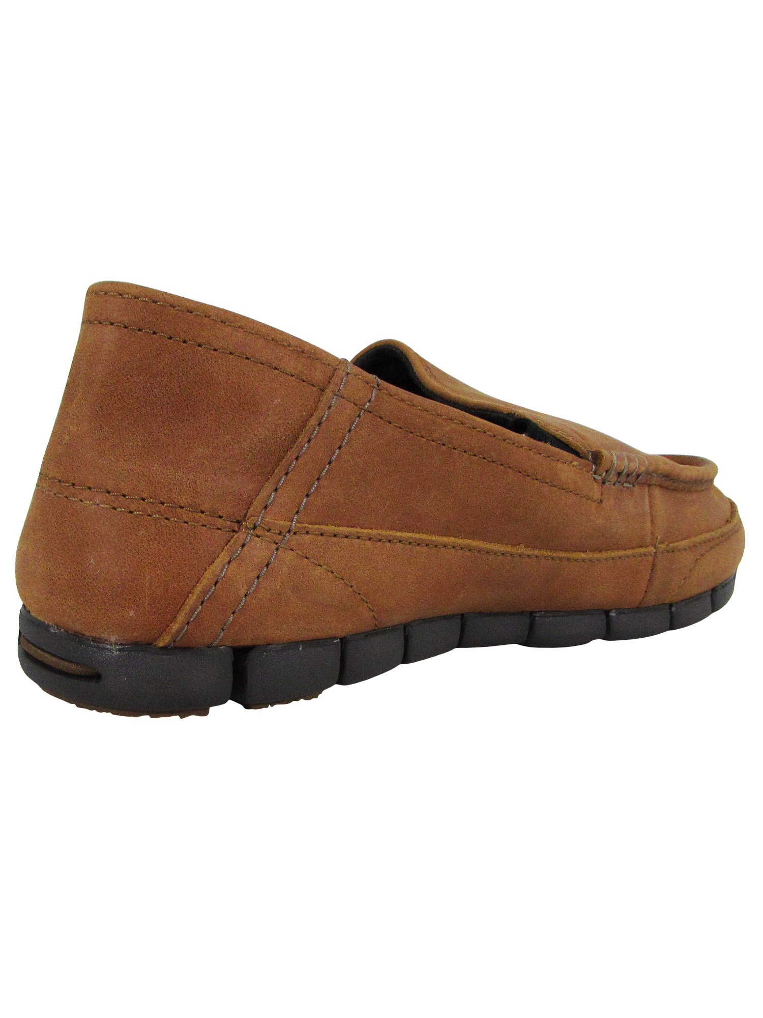 Crocs-Mens-Stretch-Sole-Leather-Loafer-Shoes thumbnail 7