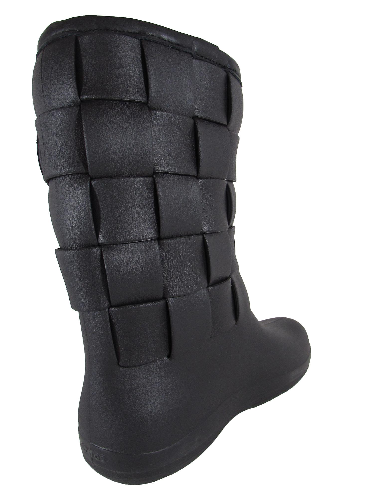 35336f69e Crocs-Womens-Super-Molded-Weave-Boot-Shoes thumbnail 4
