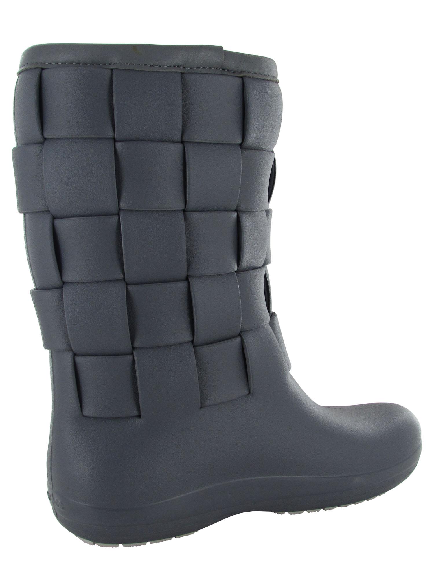 13830625e Crocs-Womens-Super-Molded-Weave-Boot-Shoes thumbnail 7