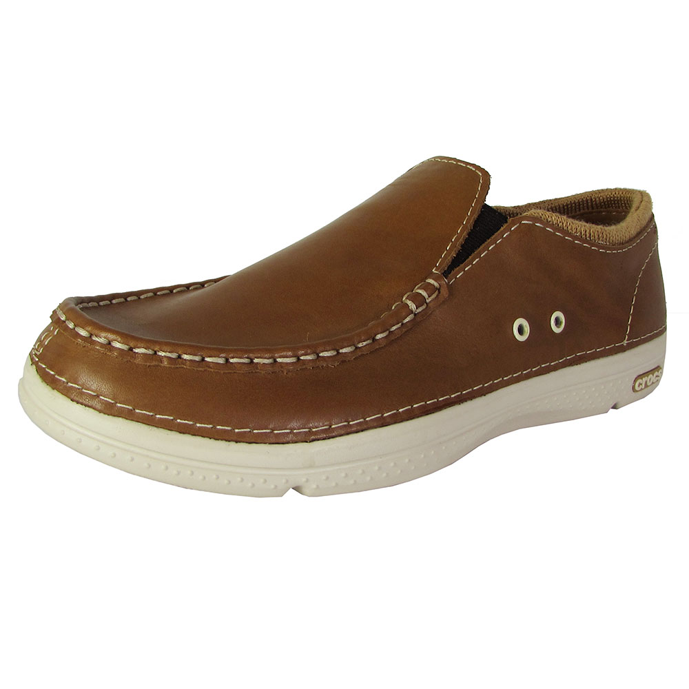 Crocs Mens Thompson Ii  Low Moc Toe Loafer Shoes