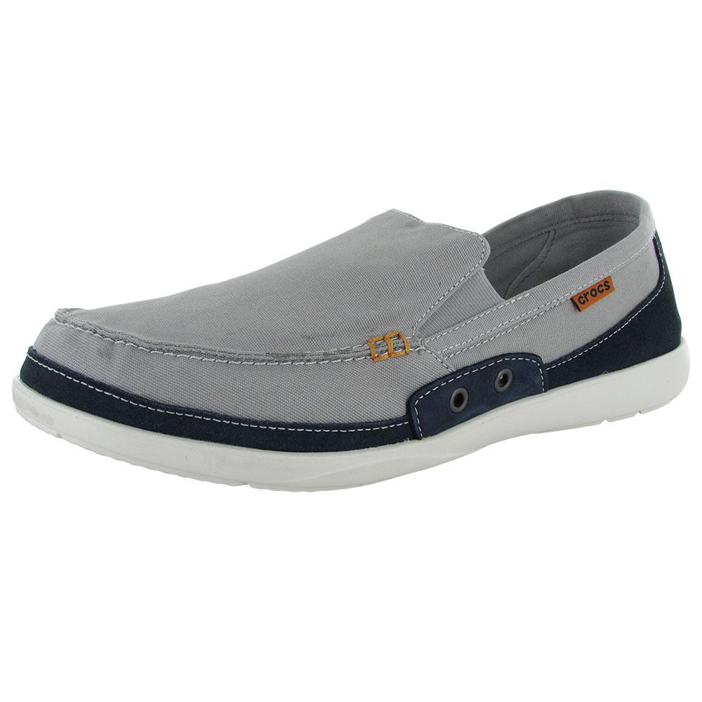 Mens Canvas Crocs Shoes