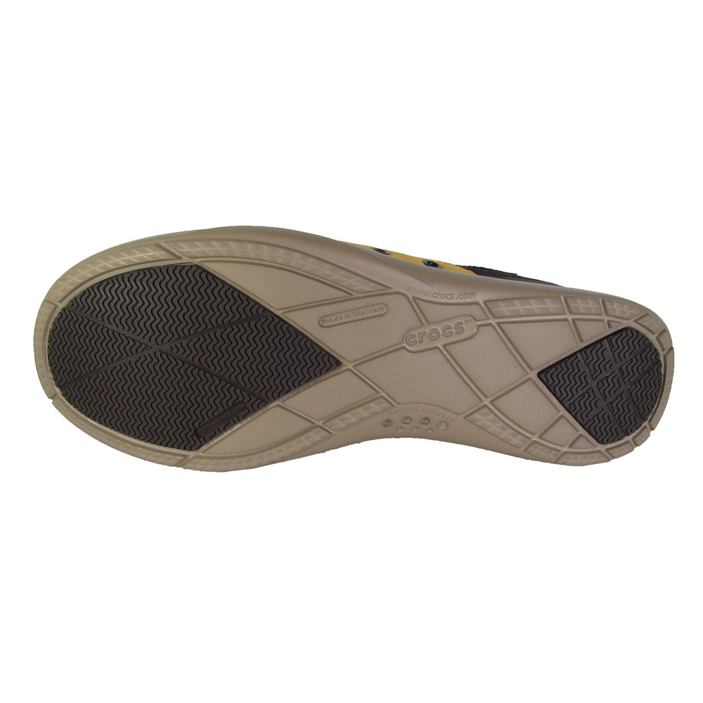 Crocs-Mens-Walu-Accent-Suede-Loafer-Shoes thumbnail 6