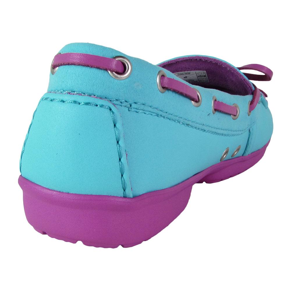Crocs-Womens-Wrap-ColorLite-Loafer-Shoes thumbnail 13