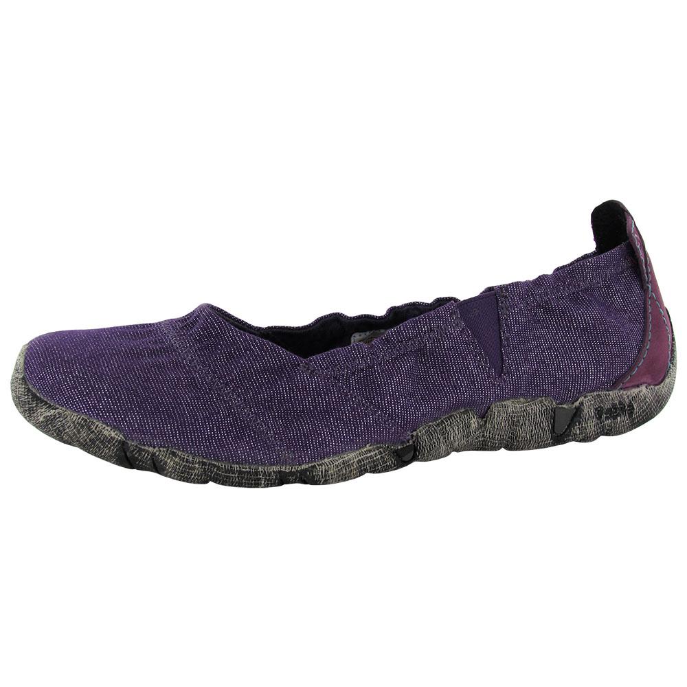 Cushe Womens Koa Canvas Slip On Ballet Flat Shoe