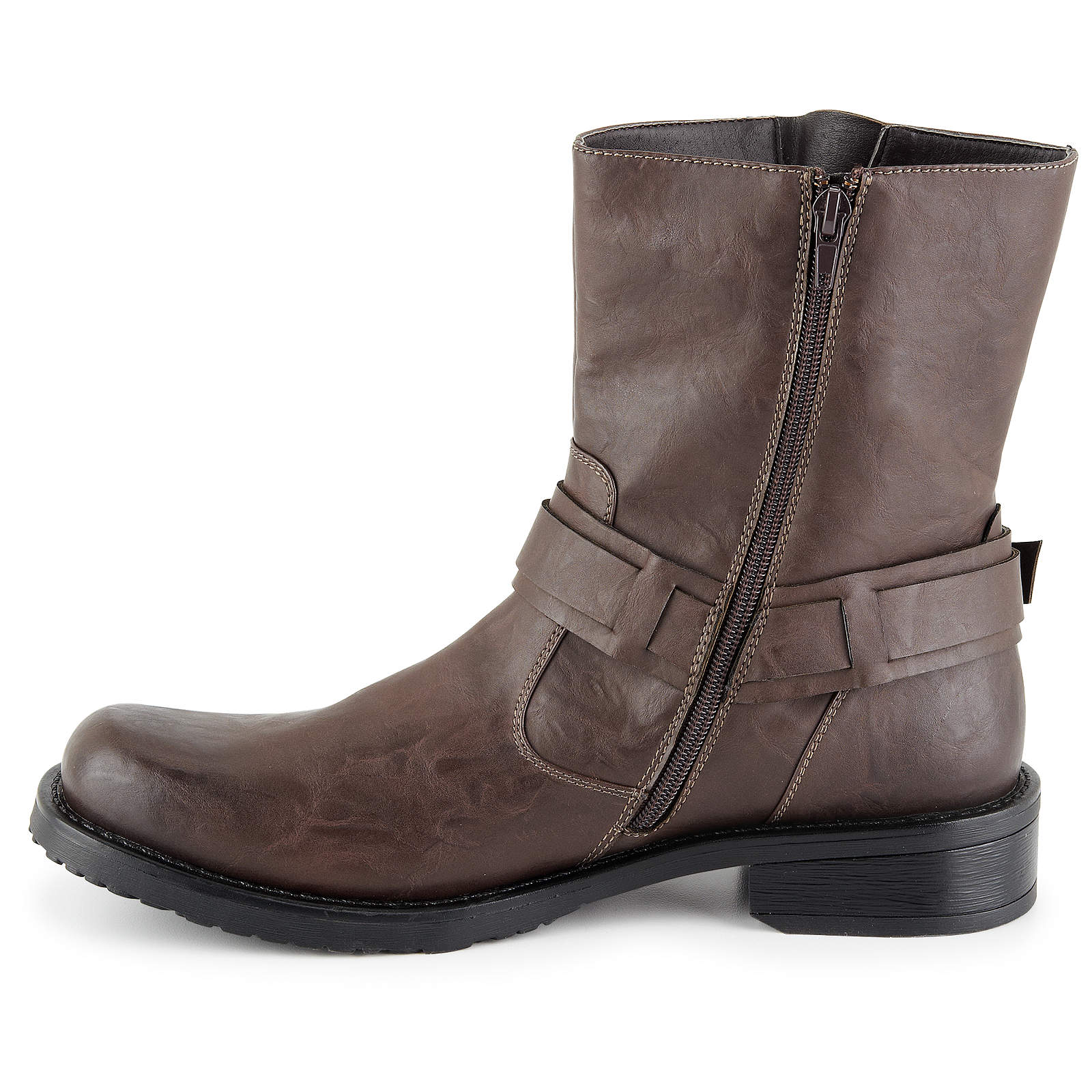 Day Five Mens Easy Rider Harness Motorcycle Boot Shoes