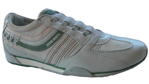NEW $90 Diesel Paraluis Womens Shoes White Gray | eBay