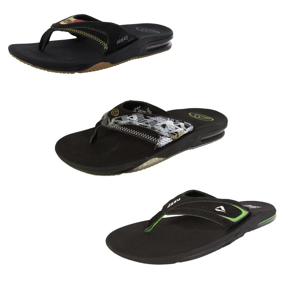 Black reef sandals - Reef Mens Thong Flip Flop Slide Sandal Shoess