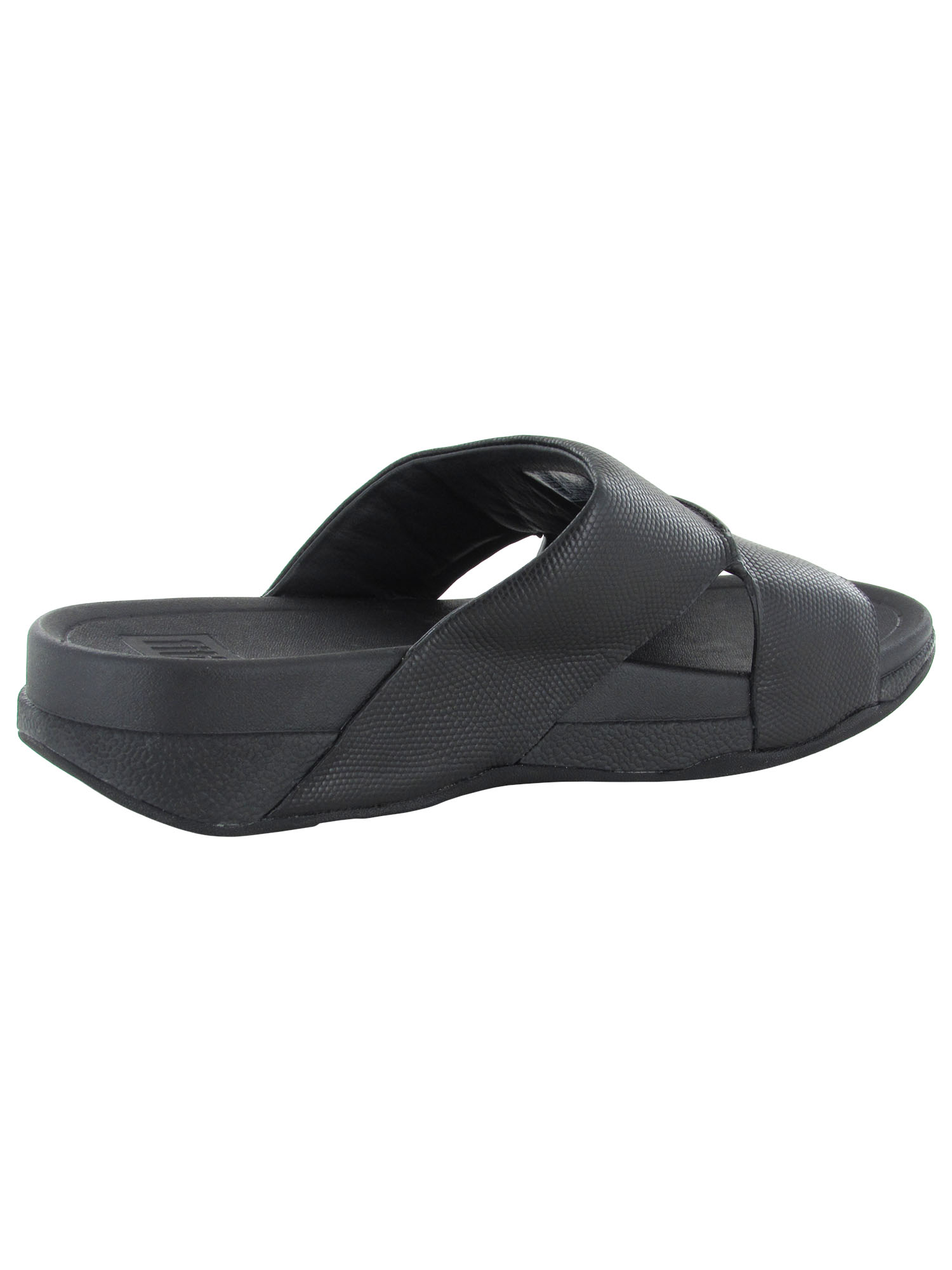 thumbnail 4 - Fitflop-Men-Bando-Slide-In-Lizard-Printed-Leather-Shoe