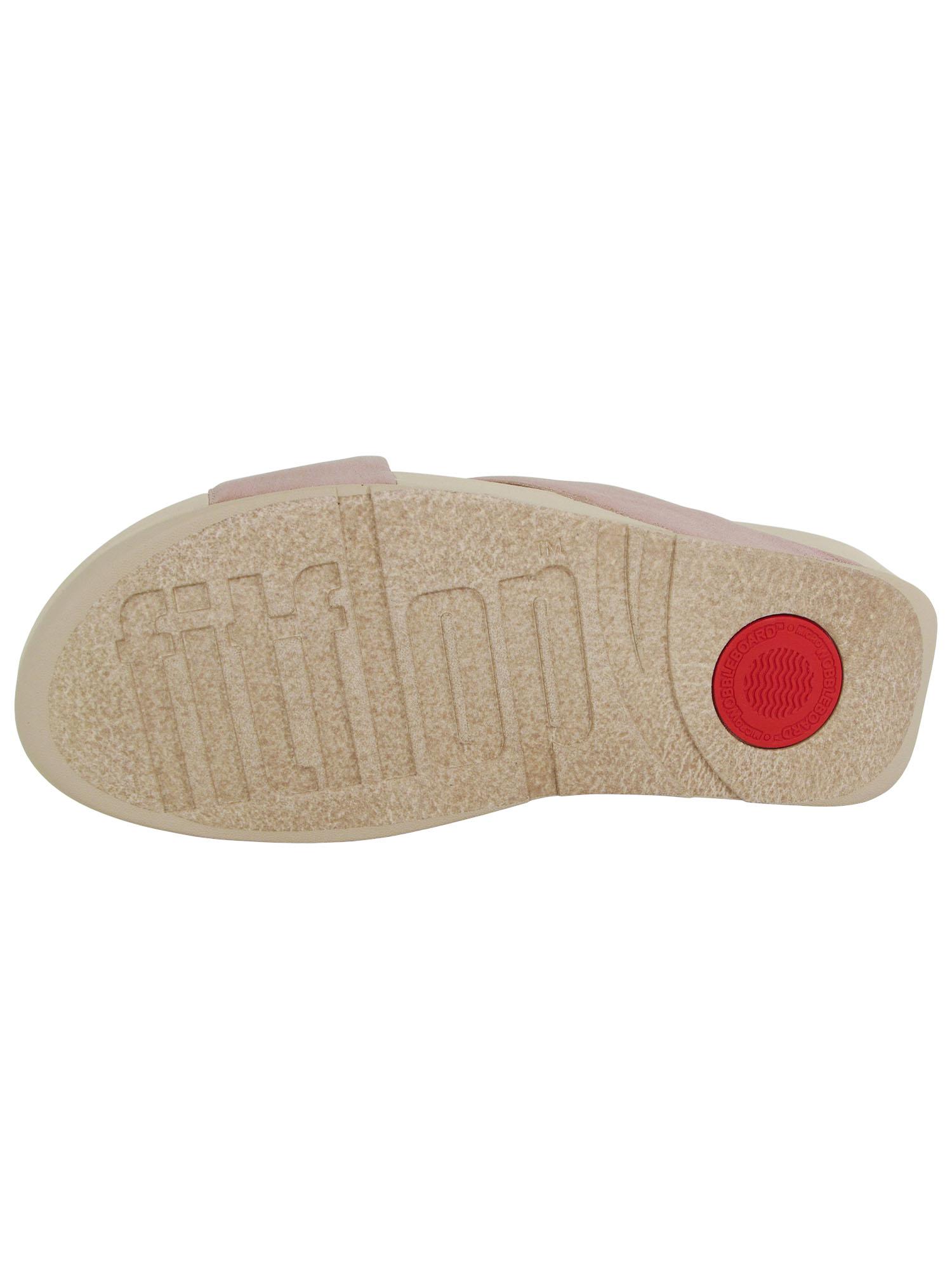 Fitflop-Womens-Lulu-Cross-Glitz-Slide-Sandal-Shoes thumbnail 15