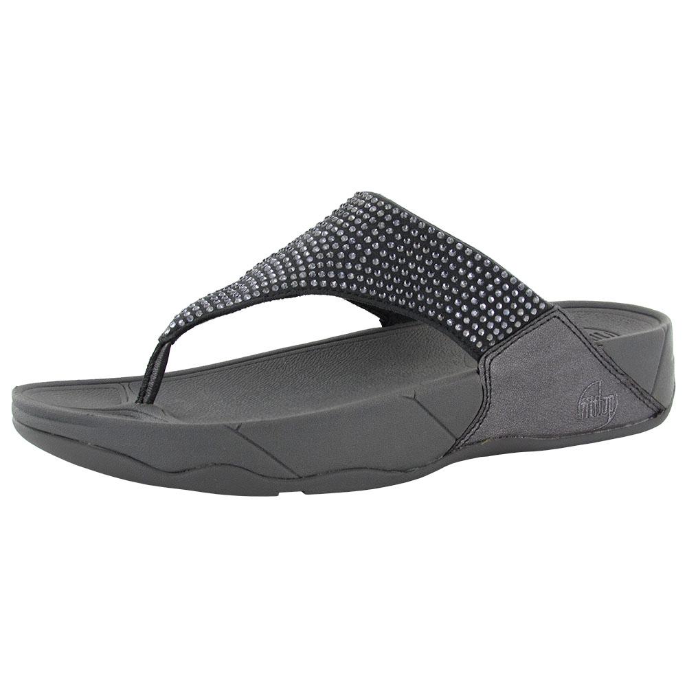 cef0e9b8b332 Fitflop Womens Rokkit Thong Sandals