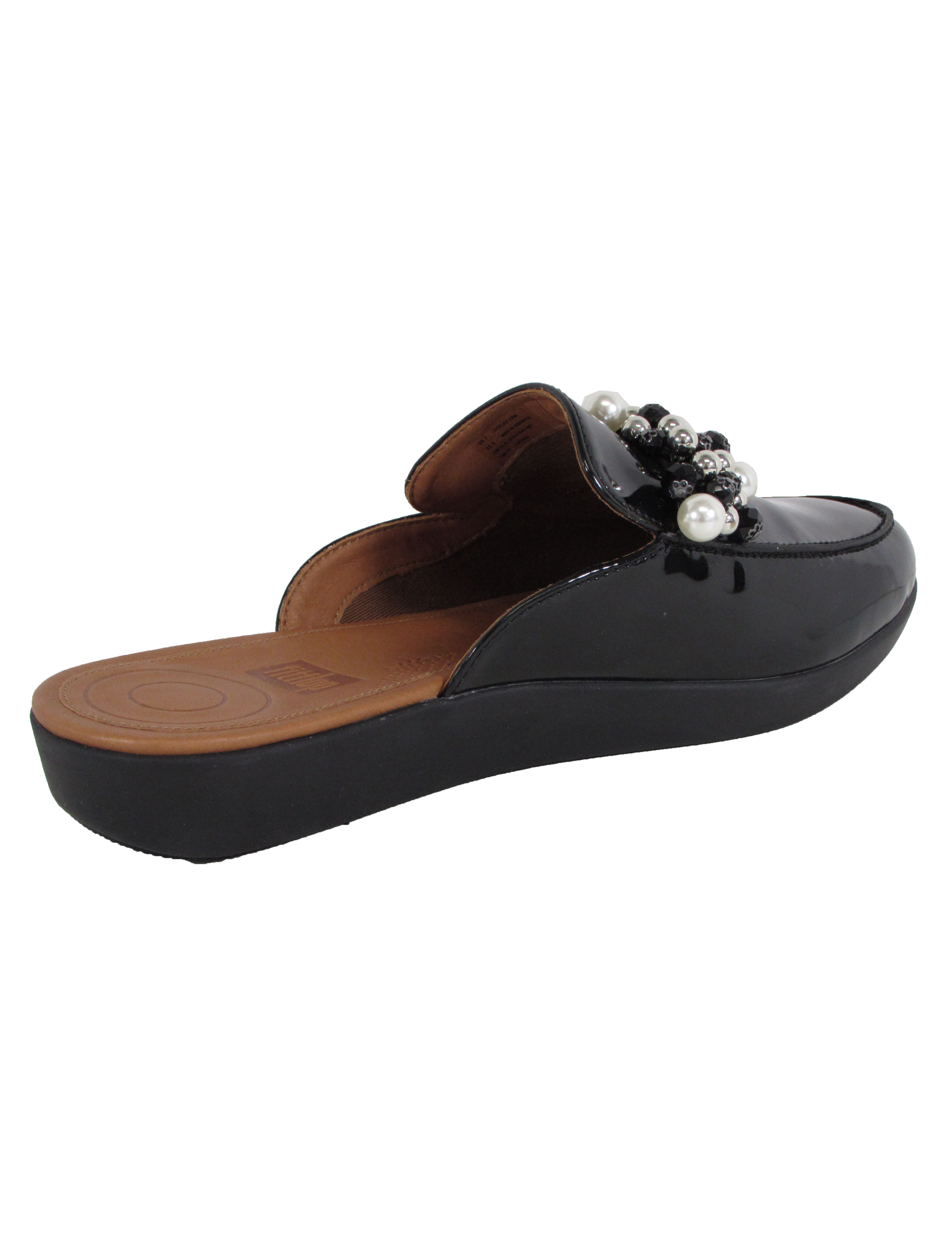 Fitflop-Womens-Serene-Deco-Beaded-Mule-Shoes thumbnail 4