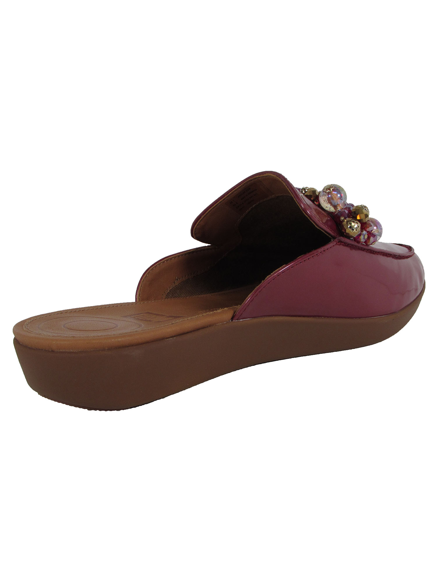 Fitflop-Womens-Serene-Deco-Beaded-Mule-Shoes thumbnail 7