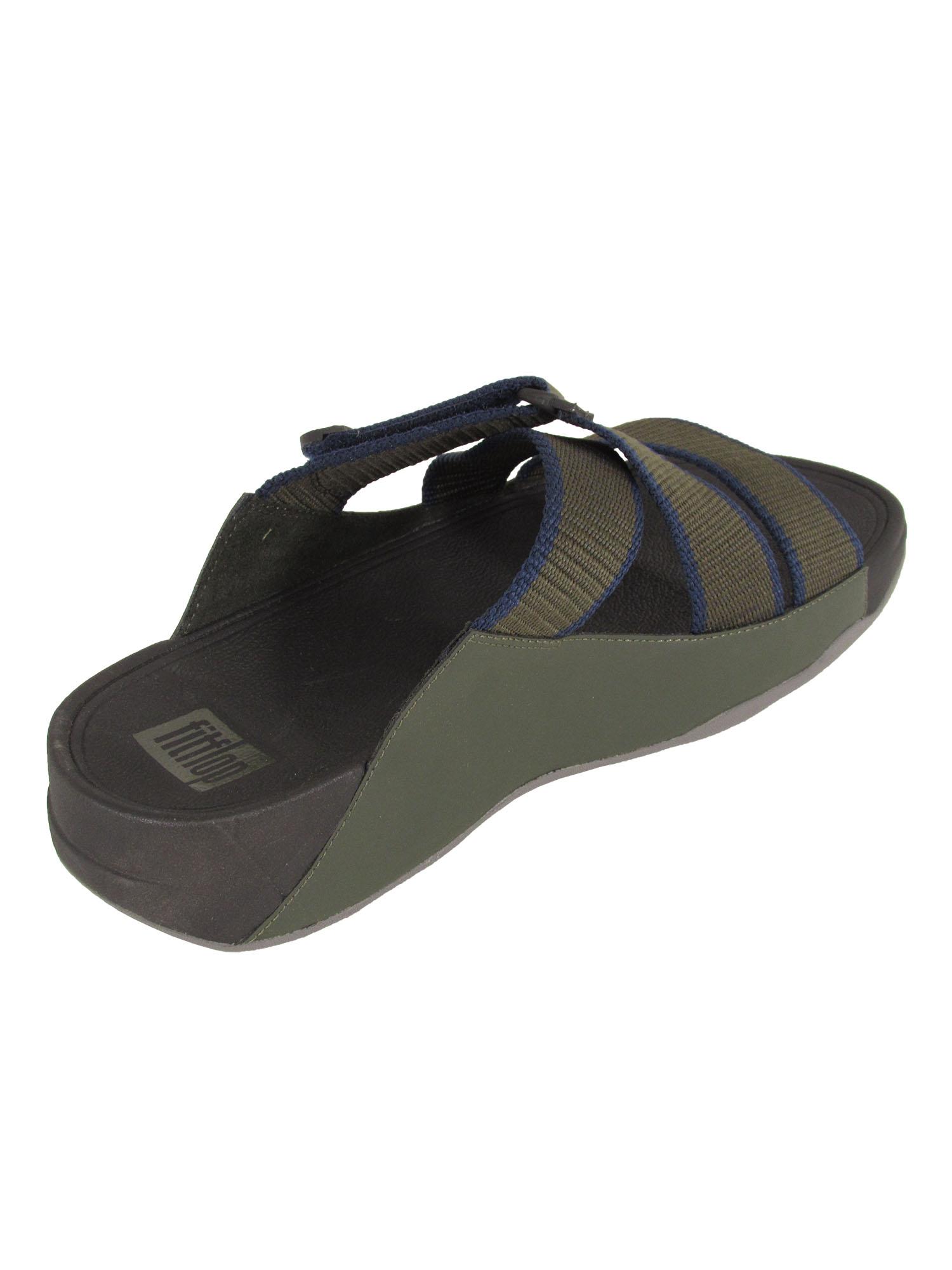 Fitflop-Mens-Sling-II-Webbing-Slide-Sandals thumbnail 7