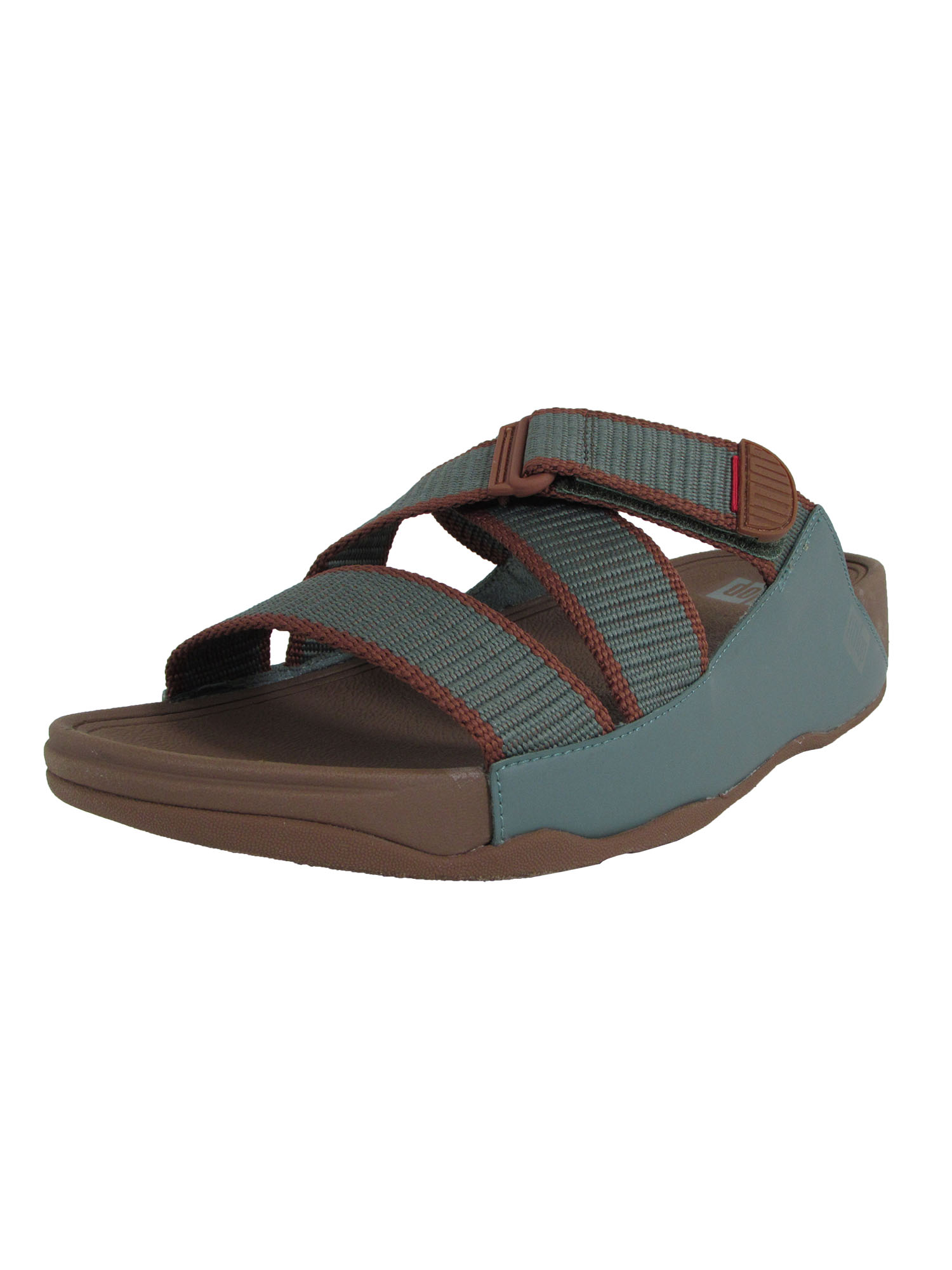 Fitflop-Mens-Sling-II-Webbing-Slide-Sandal-Shoes thumbnail 2