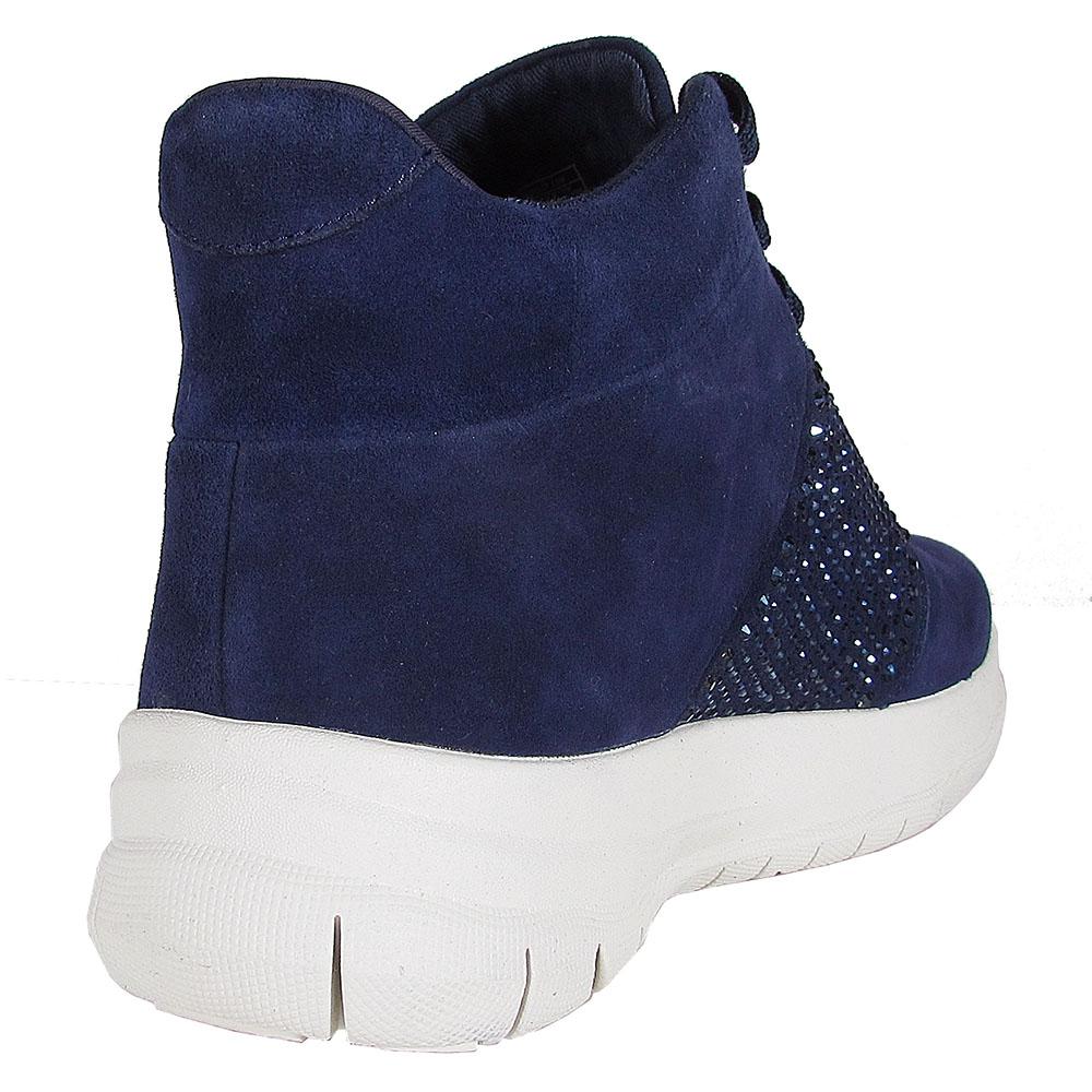 FitFlop Damenschuhe Top Sporty-Pop X Crystal High Top Damenschuhe Schuhes 1af3ce