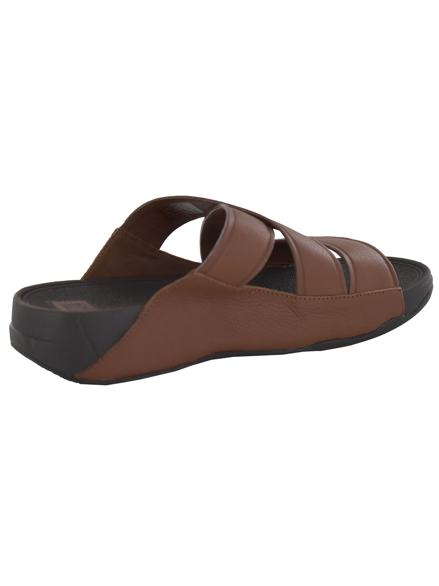 thumbnail 7 - FitFlop-Mens-Chi-Leather-Slide-Strappy-Sandal-Shoes