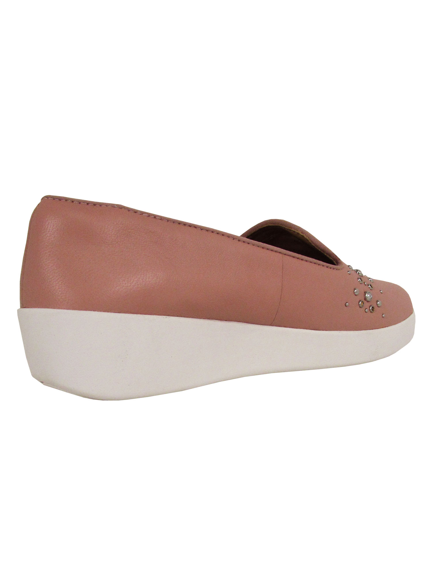 Fitflop-Womens-Audrey-Pearl-Stud-Smoking-Slipper-Shoes thumbnail 4