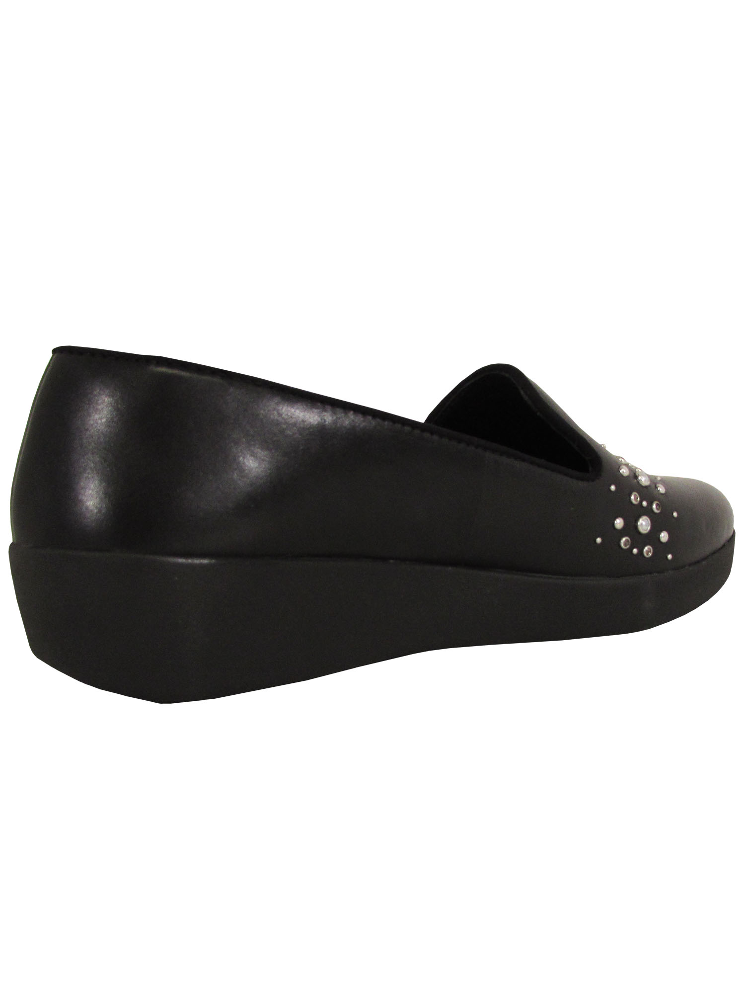 Fitflop-Womens-Audrey-Pearl-Stud-Smoking-Slipper-Shoes thumbnail 7
