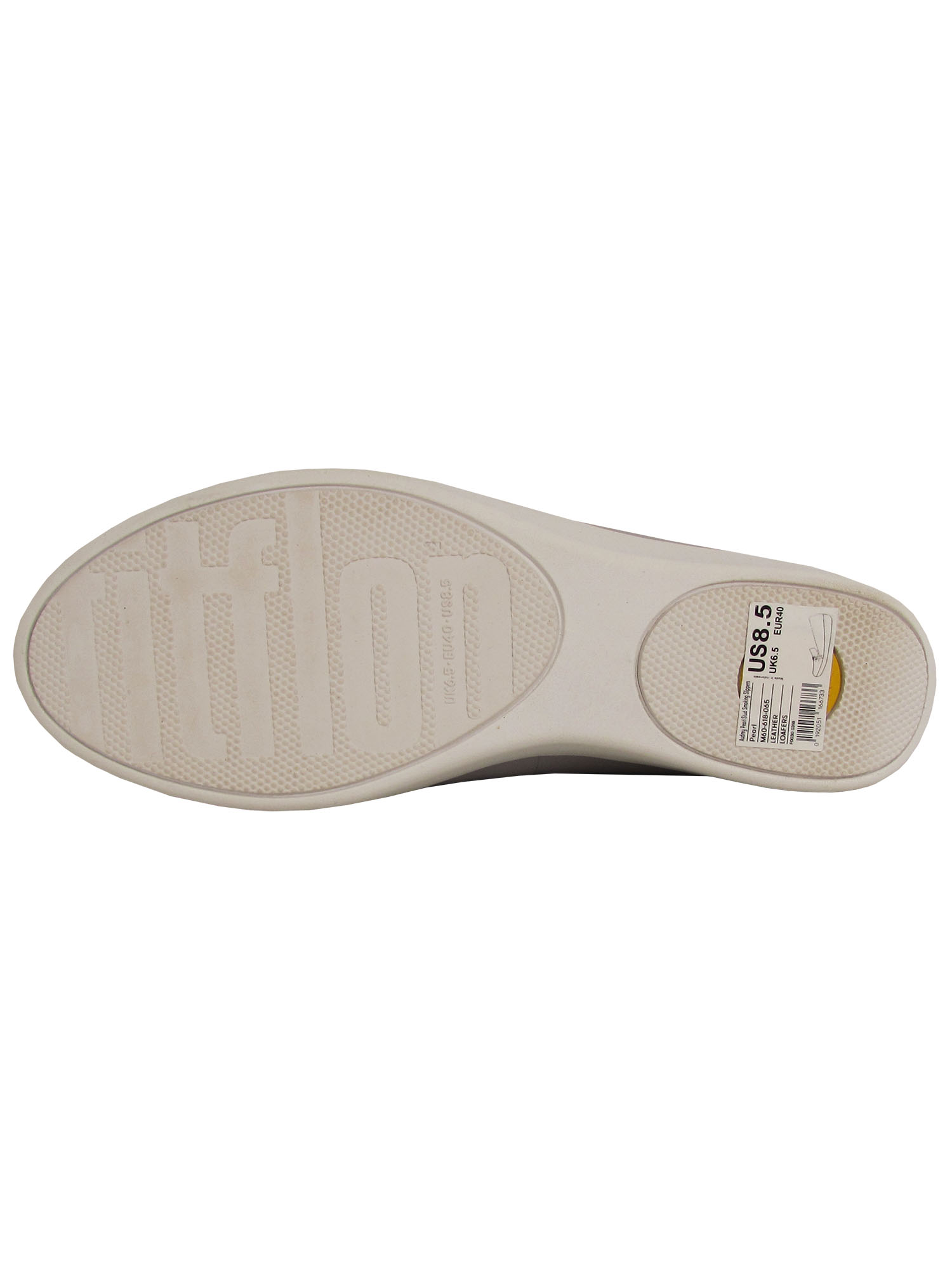 Fitflop-Womens-Audrey-Pearl-Stud-Smoking-Slipper-Shoes thumbnail 9