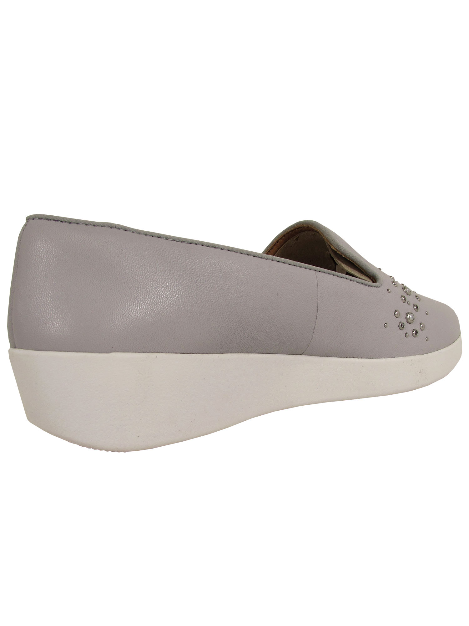 Fitflop-Womens-Audrey-Pearl-Stud-Smoking-Slipper-Shoes thumbnail 10