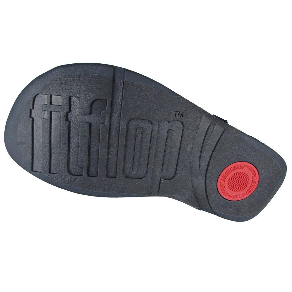 thumbnail 3 - FitFlop Mens Surfer Slide Open Toe Sandal Shoes