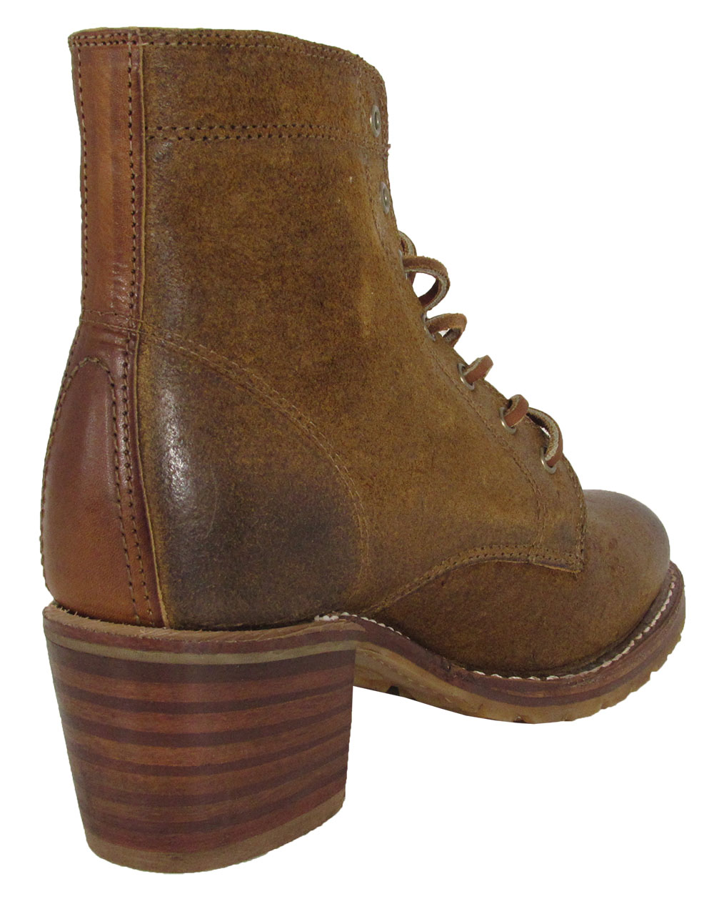 Frye-Womens-Sabrina-6G-Lace-Up-Suede-Ankle-Boots thumbnail 10