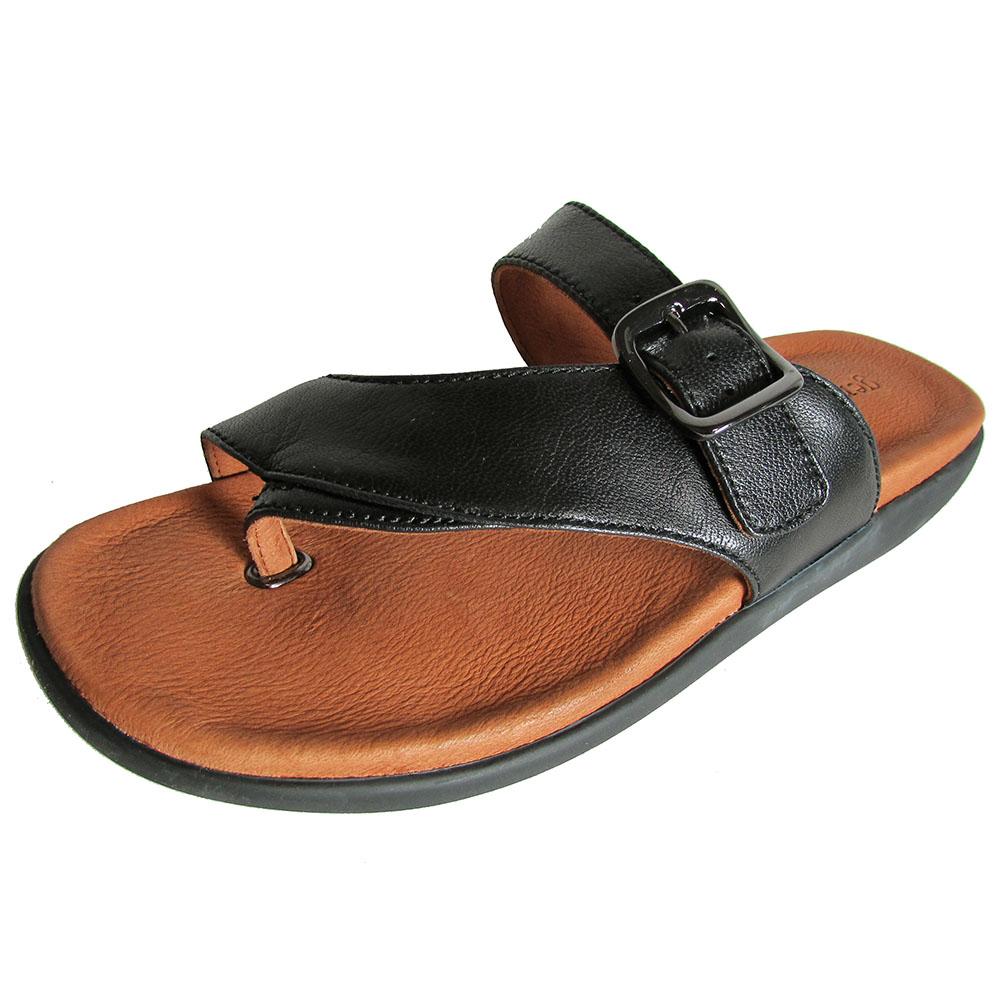 Gentle Souls Sandale Damenschuhe Seagol Leder Thong Sandale Souls Schuhe 20390c