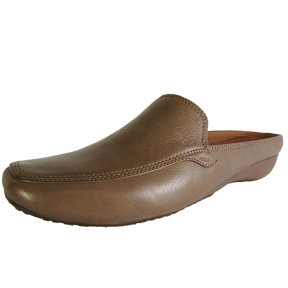 879faa4d82d Gentle Souls Womens IMEX Leather Slip on Loafer Mule Shoe Mushroom ...