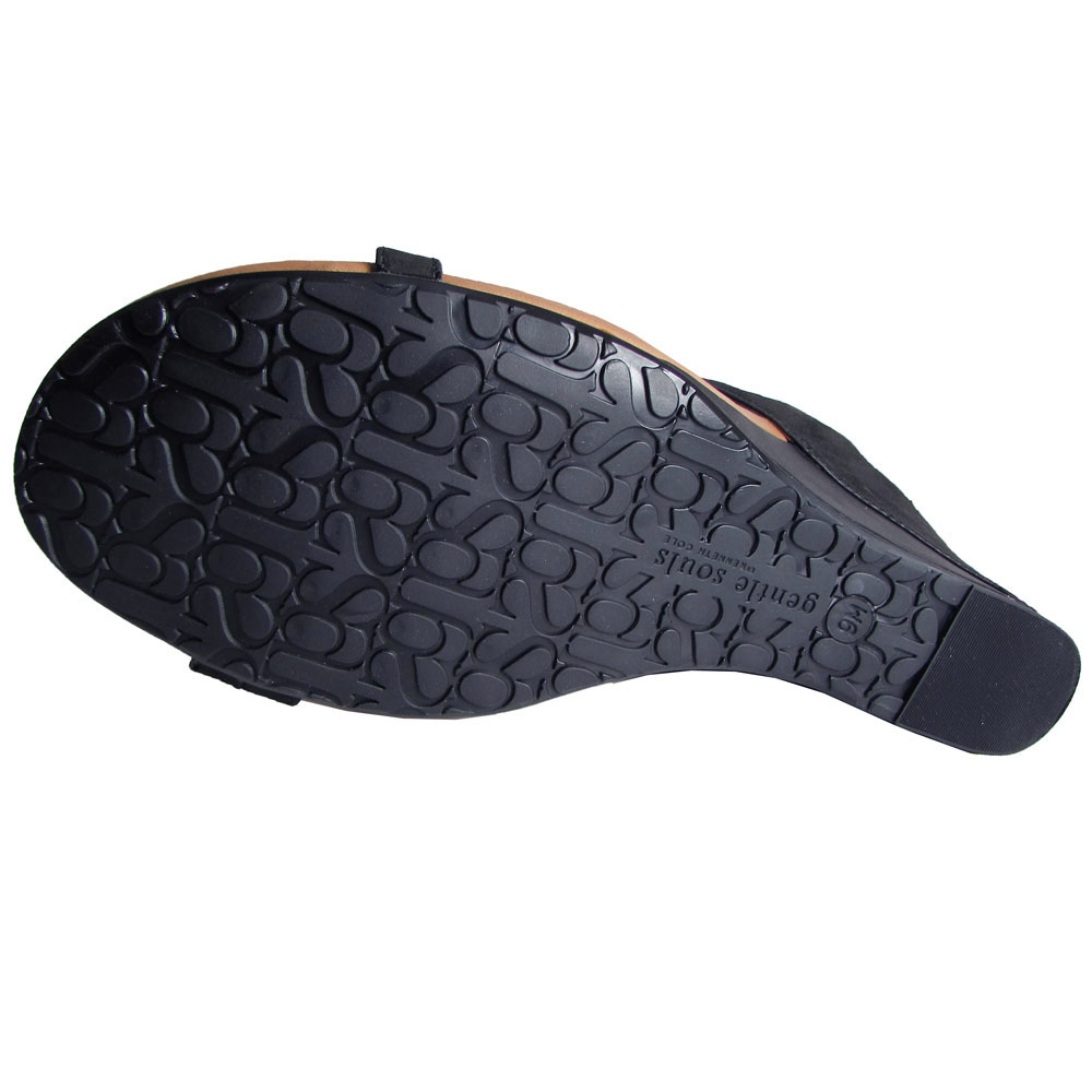 Gentle Souls Toe Damenschuhe Irwin NU Wedge Open Toe Souls Dress Sandale Schuhe 4d6522