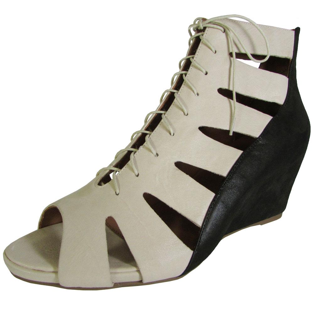 Gentle Peep Souls Damenschuhe Maeko NU Peep Gentle Toe Wedge Sandale Schuhe afed47